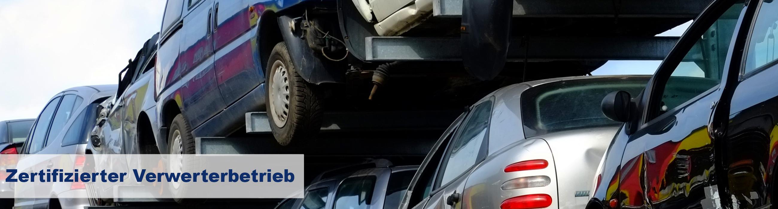 Autoverwertung, Verwerterbetrieb nach §4 Abs. 2 der Altautoverordnung